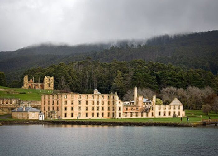 The Port Arthur Historical Site in Tasmania, Australia