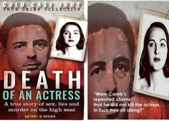 Death of an Actress Cold Case Jury Book