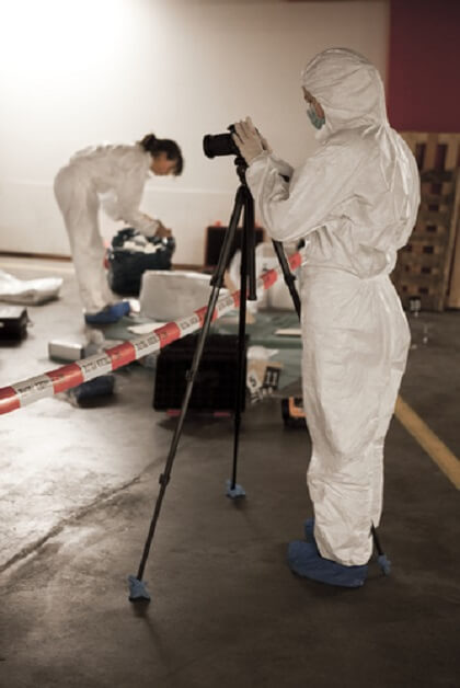 Behind The Yellow Tape Case Files From A Forensic