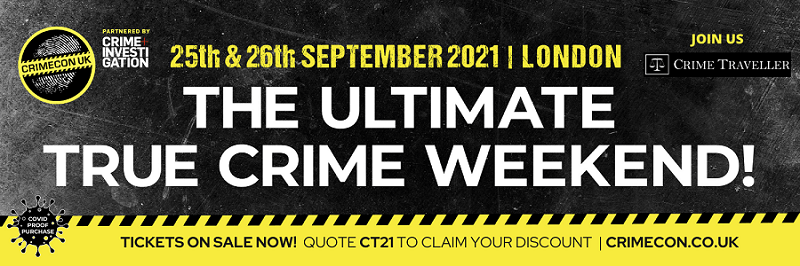 September 2021 CrimeCon is coming to the UK