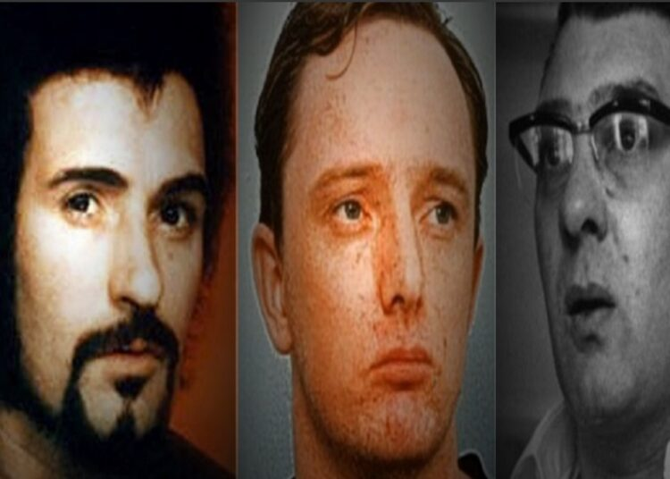 Peter Sutcliffe, Robert Napper and Ronnie Kray - Broadmoor
